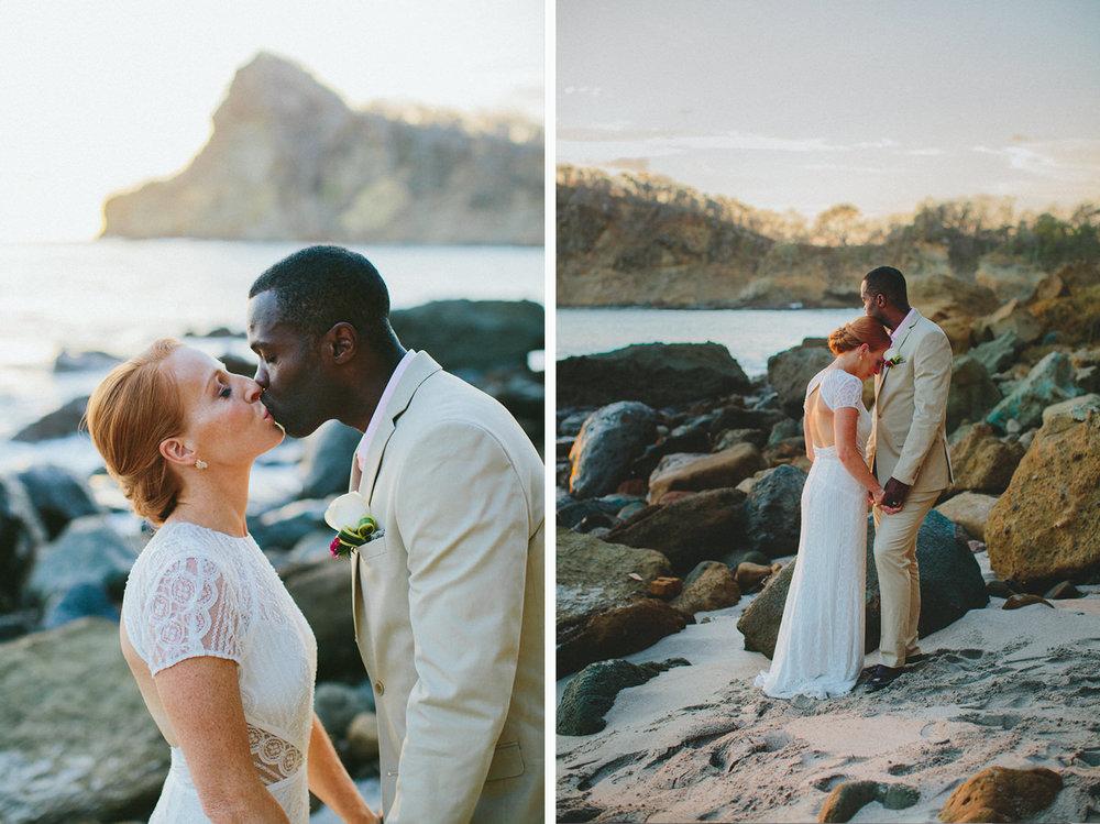 Beach wedding photography in Nicaragua