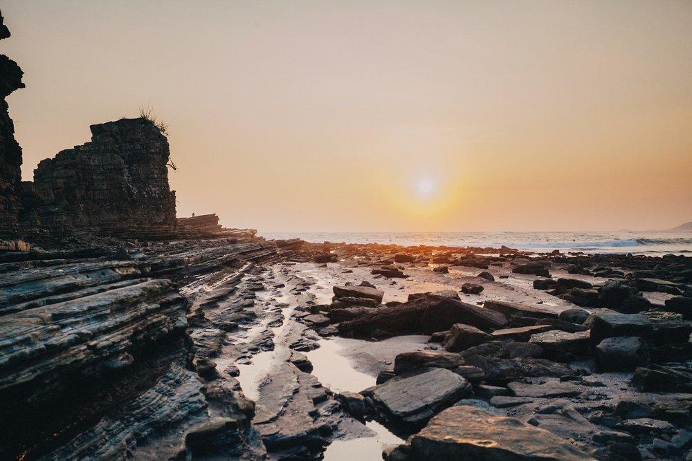 Nicaragua beach landscape