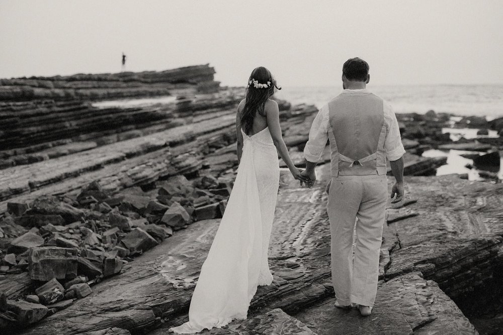 Wedding dress Nicaragua beach