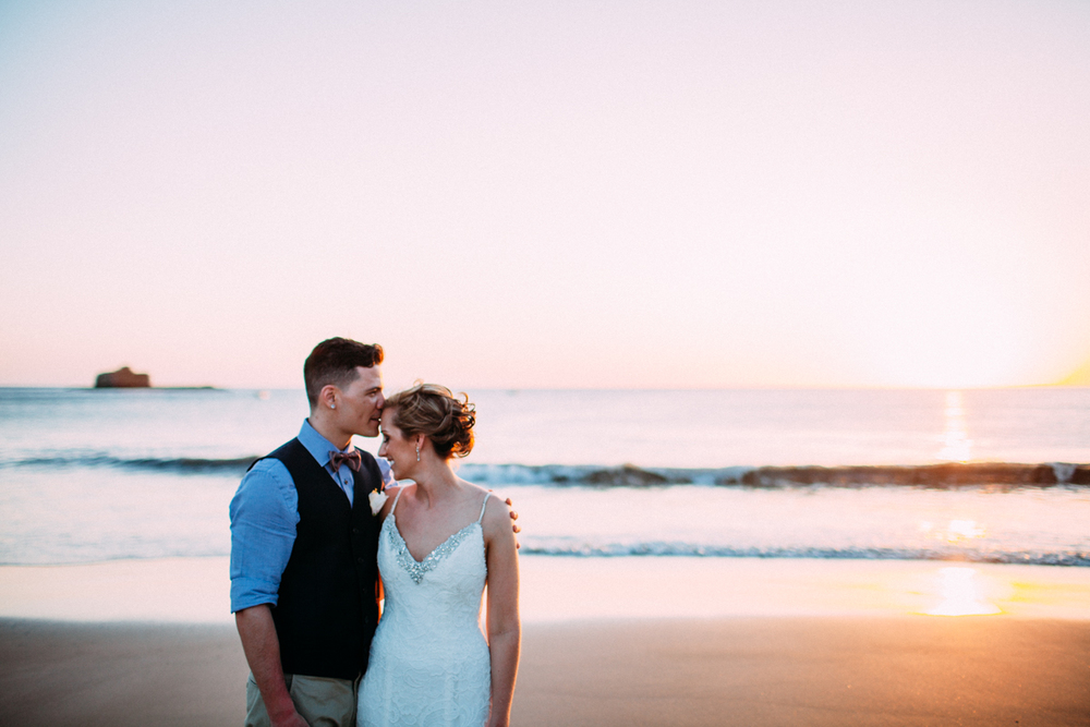 BEACH ELOPEMENT WEDDING GEORGE + MADDIE