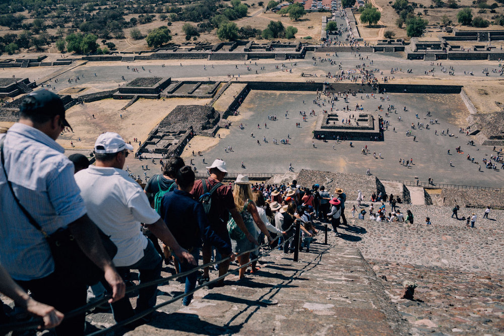 "Teotihuacán  , (Nahuatl: ""The City of the Gods"") the most important and largest city of pre-Aztec central Mexico, located about 30 miles (50 km) northeast of modern Mexico City."