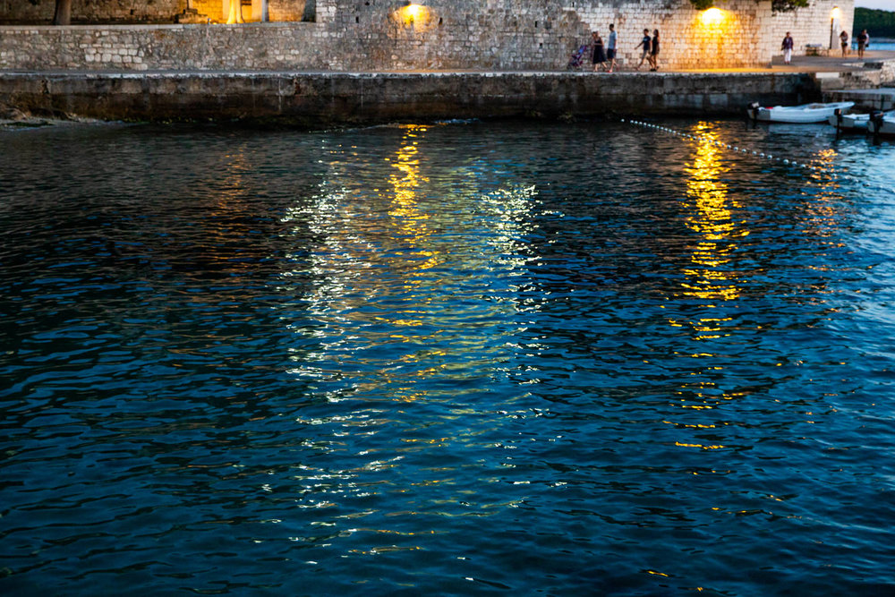 Croatia water colors
