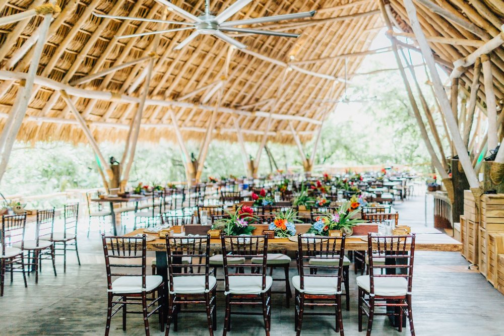 Beach wedding in tropical style, Costa Rica