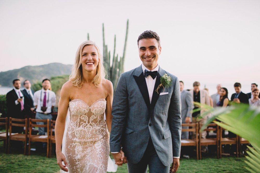 Christian & Dana just married. Nicaragua Wedding Photography.