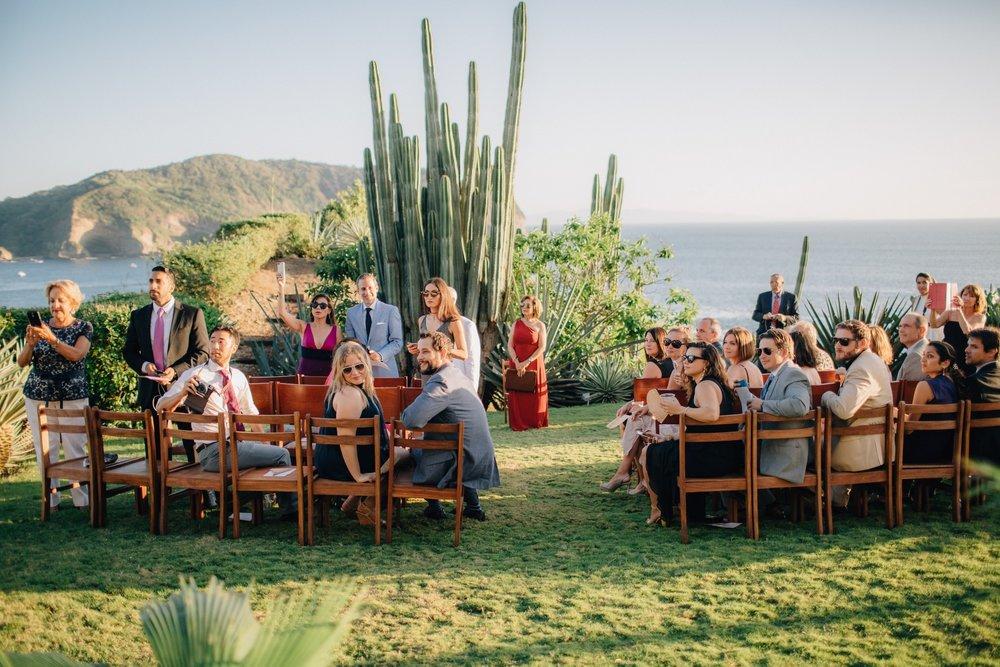 Nicaragua beach wedding venue in San Juan Del Sur