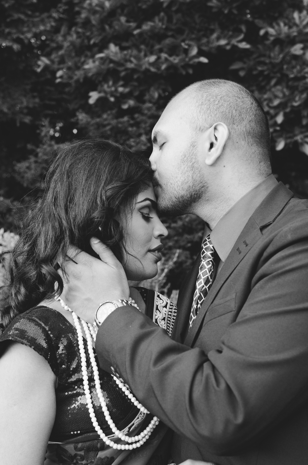Amresh + Salona Katie Powell Photography Vancouver Engagement Stanley Park Portraits-4.jpg