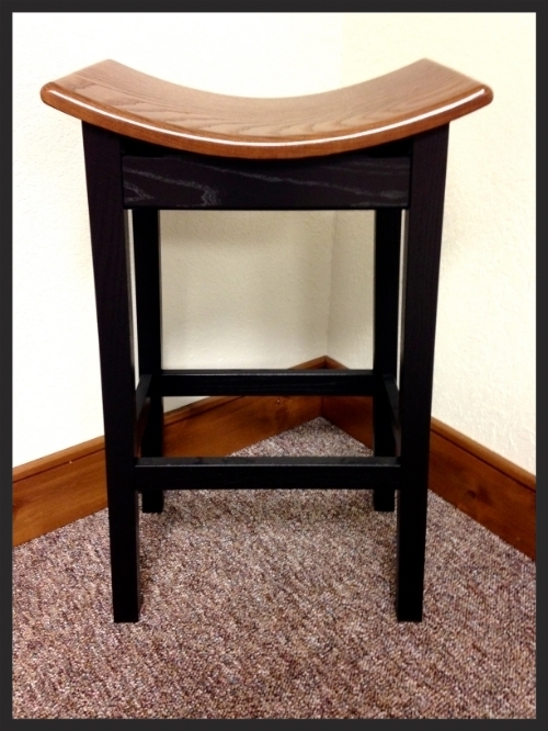 These bar stools are a brand new item! They are comfortable to sit on and are for residential homes.