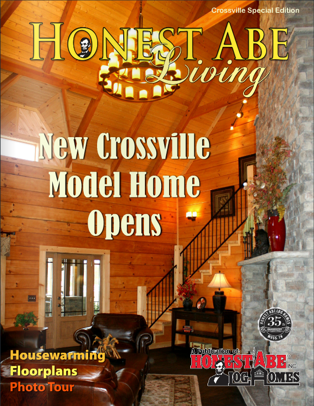 Mountain Top's work on the cover of Special Winter 2014 Edition of Honest Abe Living Magazine