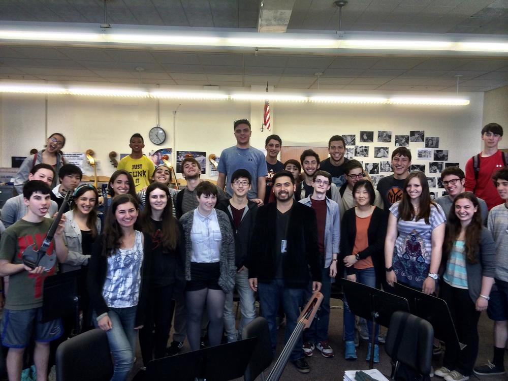 A post-workshop photo with Schrieber HS