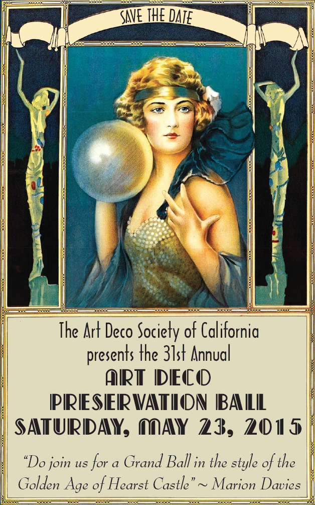 Deco Ball 2015 Save the Date