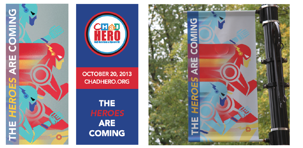 2013 CHaD Hero Poster layout