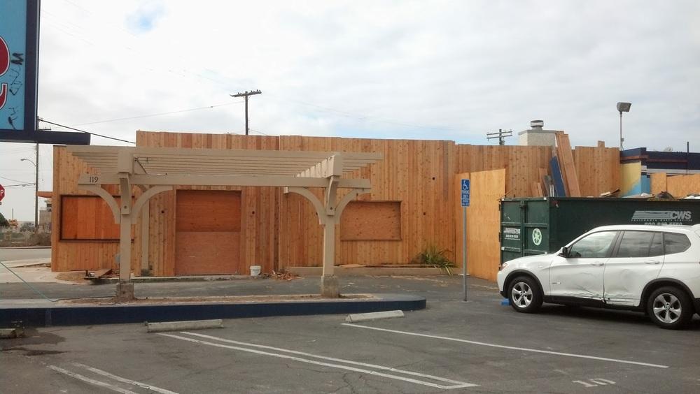 Playa Provisions Under Construction - February 2014. Source: Melinda Loomis