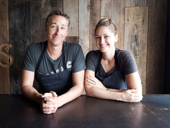 Chef couple Brooke Williamson and Nick Roberts discuss details of their new resto, Playa Provisions. Source: LA Confidential