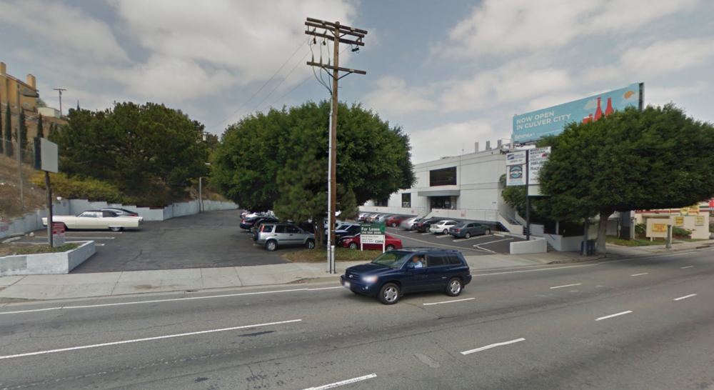 Image credit: Building Los Angeles Blog. Location of proposed project.