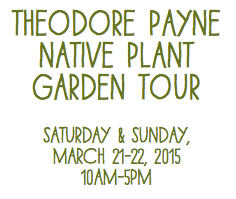 theodore payne foundation tour