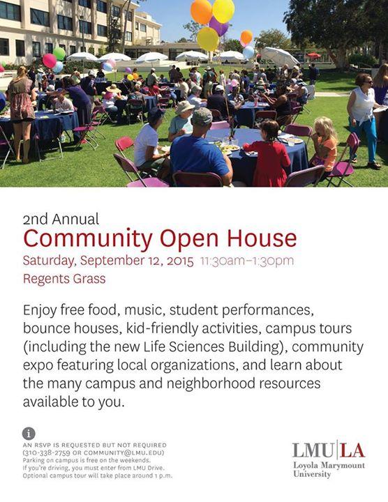 lmu westchester community open house 2015