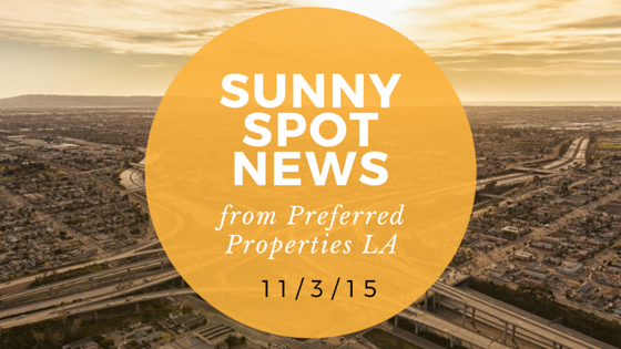 Preferred Properties LA Sunny Spot News Nov 2015.png