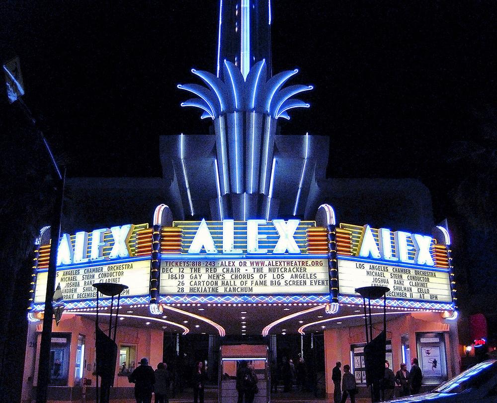 Alex Theatre, Glendale, CA