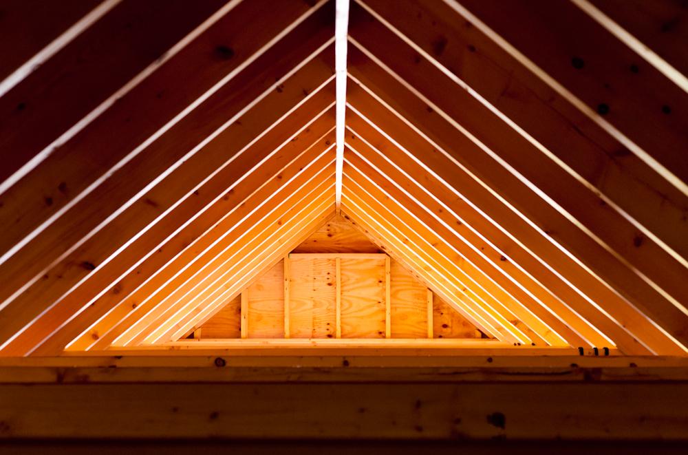 los angeles home attic
