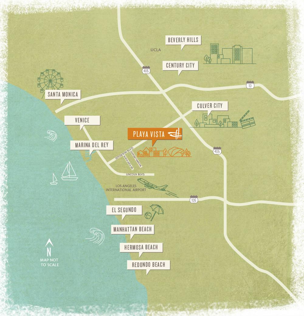 Map Credit: Playa Vista
