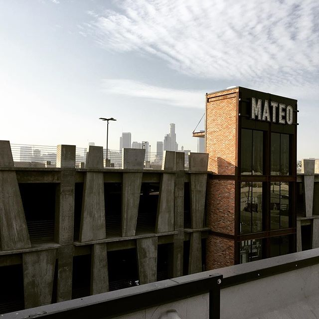Fabulous tour with @downtown_la at nearly complete #Mateo in the Arts District.