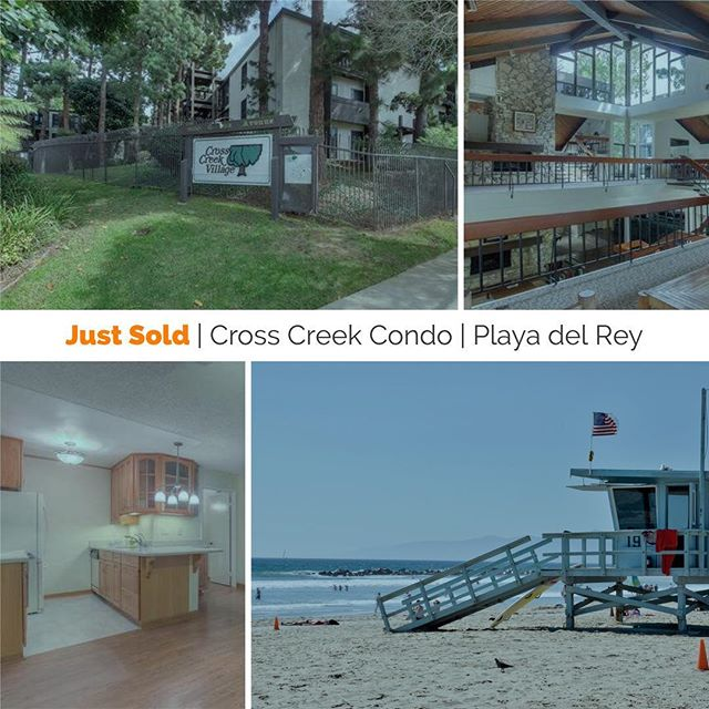 Just Sold | 7742 Redlands H1028 | Playa del Rey | Congratulations to our happy home buyers!