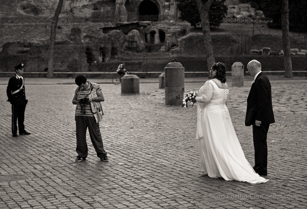 Wedding Photographer. Rome. ©Ciro Coelho. All Rights Reserved.