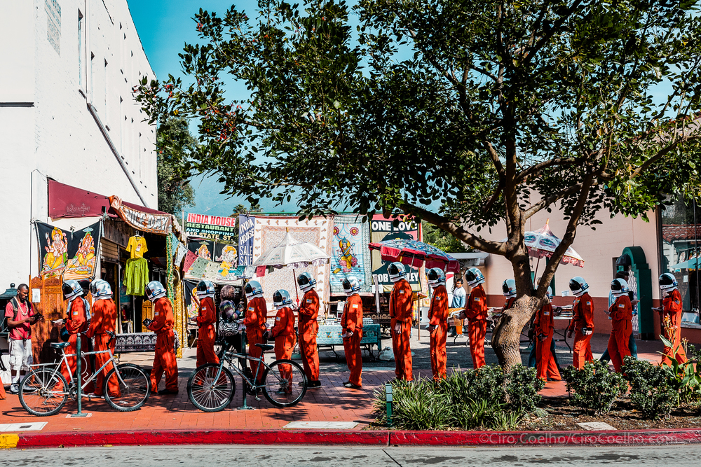 Santa Barbara Film Festival Space Invasion.  Santa Barbara, California. ©Ciro Coelho. All Rights Reserved.