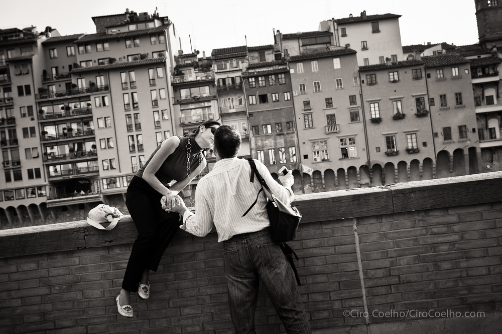 Florence Lovers. Florence. ©Ciro Coelho. All Rights Reserved.