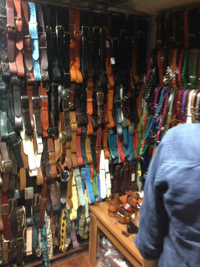 Store of Belts