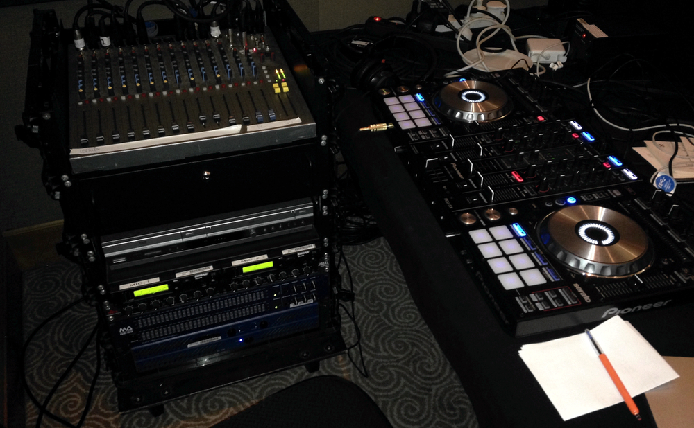 Wellington DJ hire corporate function DJ gear 2.jpg