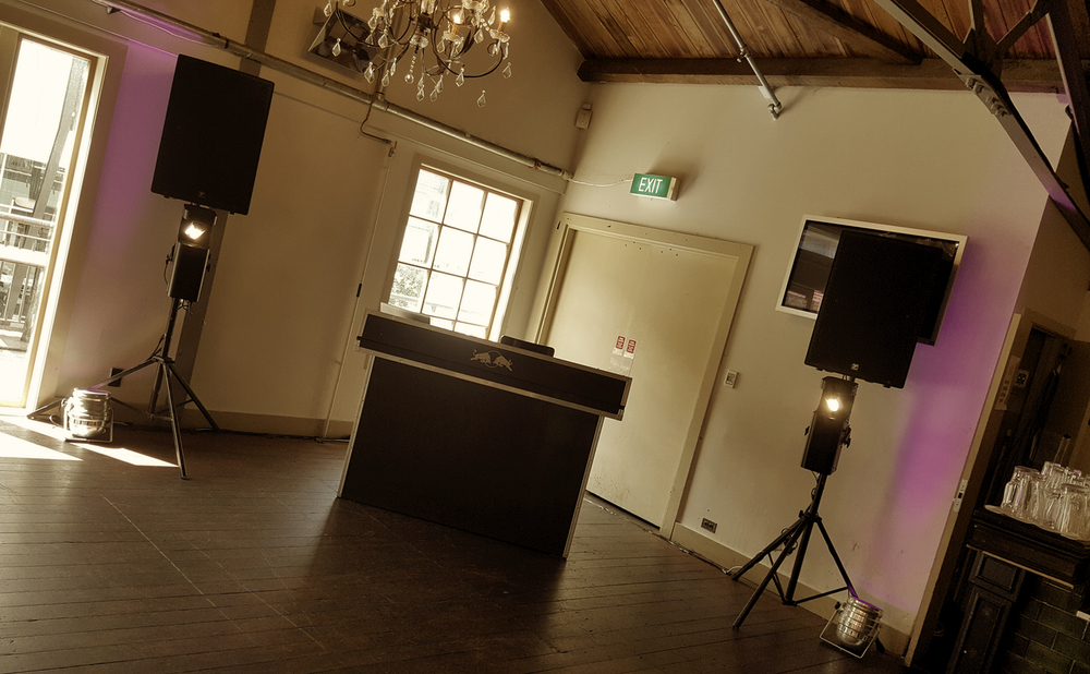 Wellington DJ hire corporate function DJ setup.jpg
