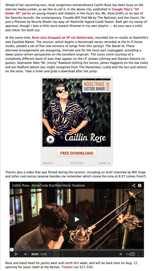 Caitlin Rose Noisetrade EastSide Manor Cream 2.png