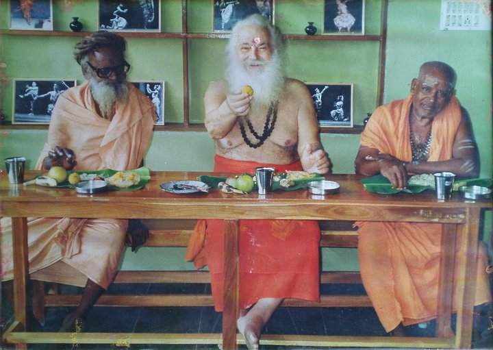 Swami and his lunch.jpg