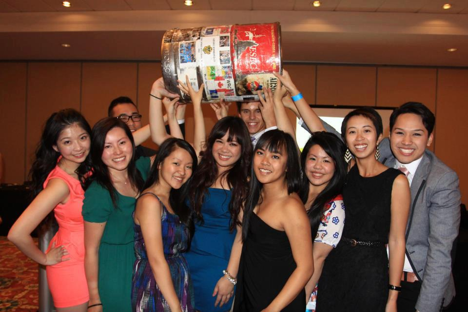 The 'nutty' AIESEC SFU Executive Board 2012