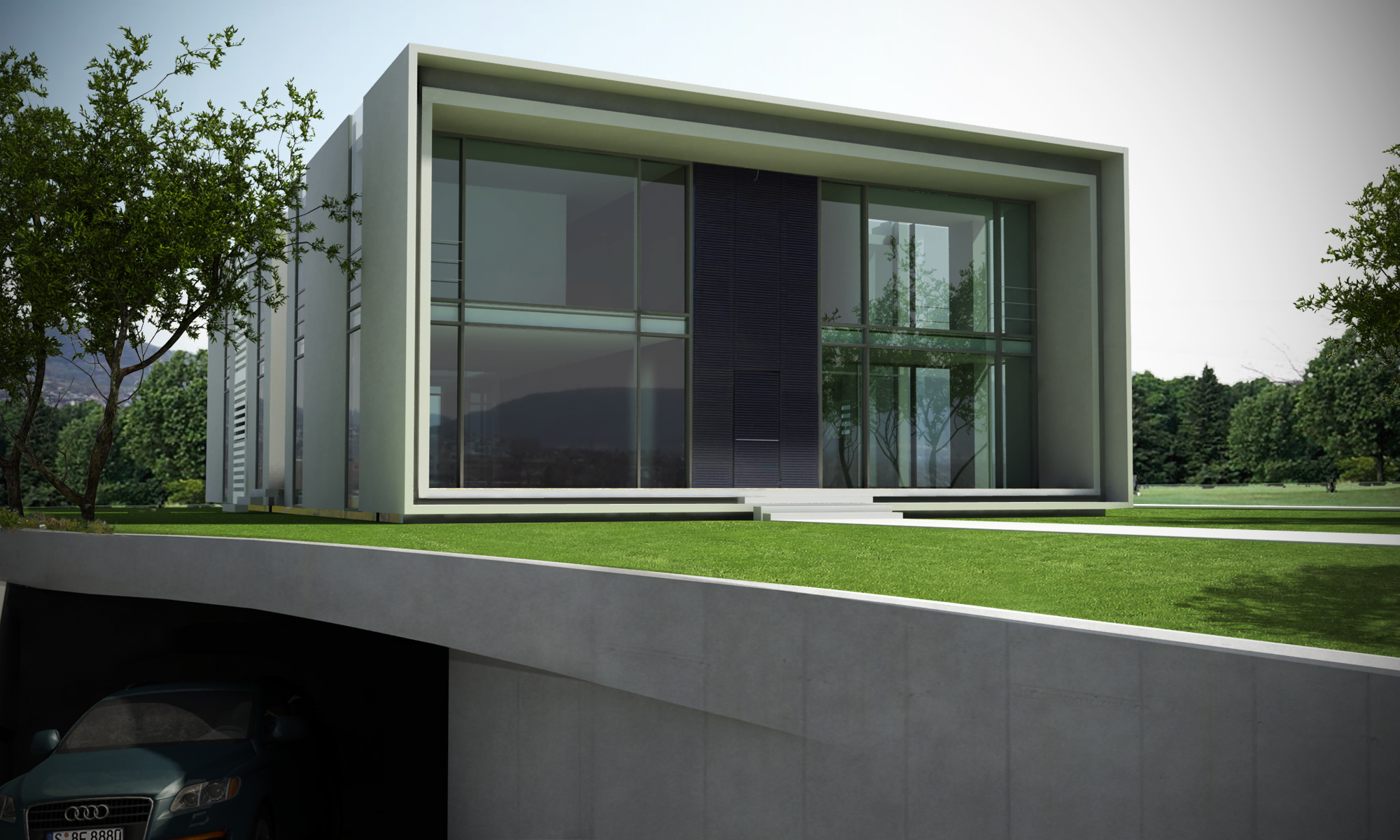 Bauhaus house