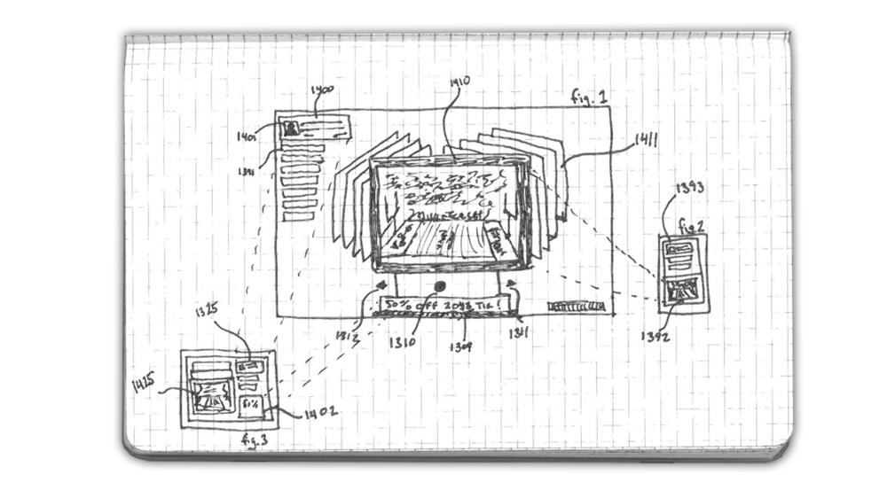 ComScreenCast Patent Sketch