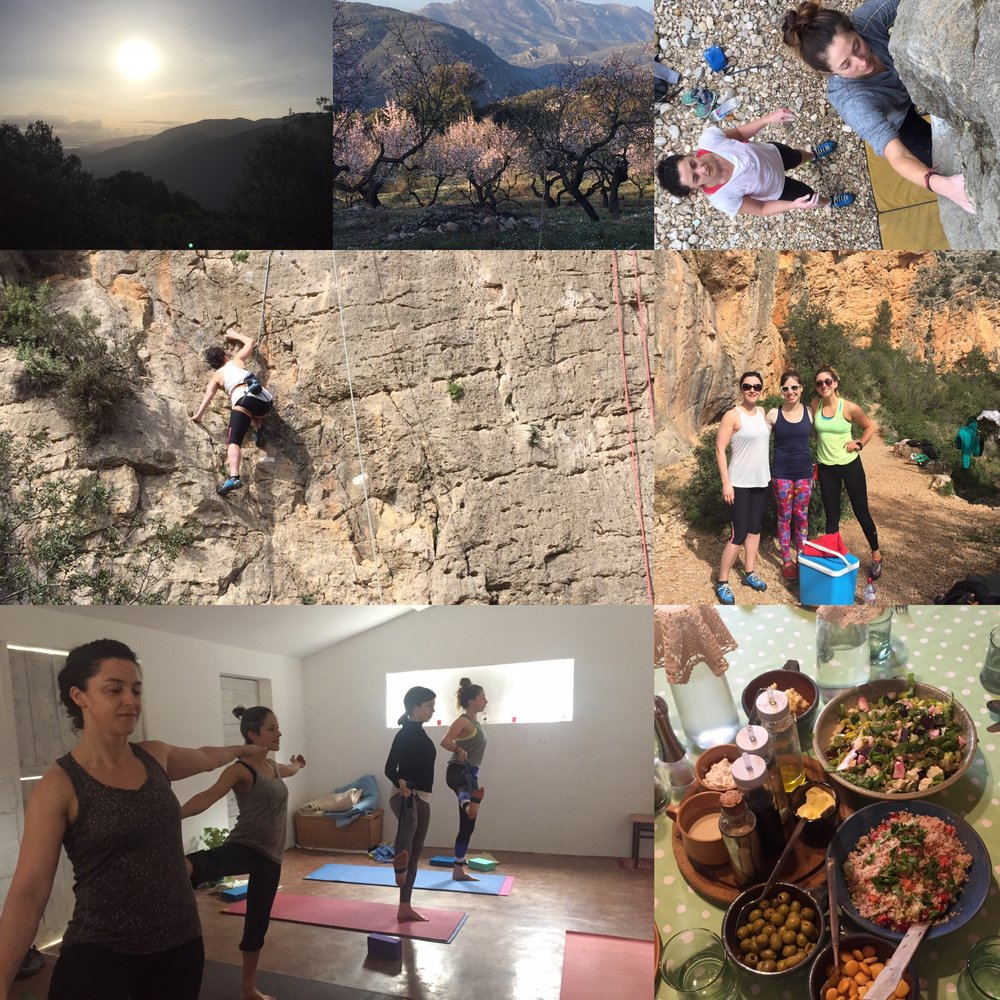 Yoga and Climbing retreat with naomi in Spain