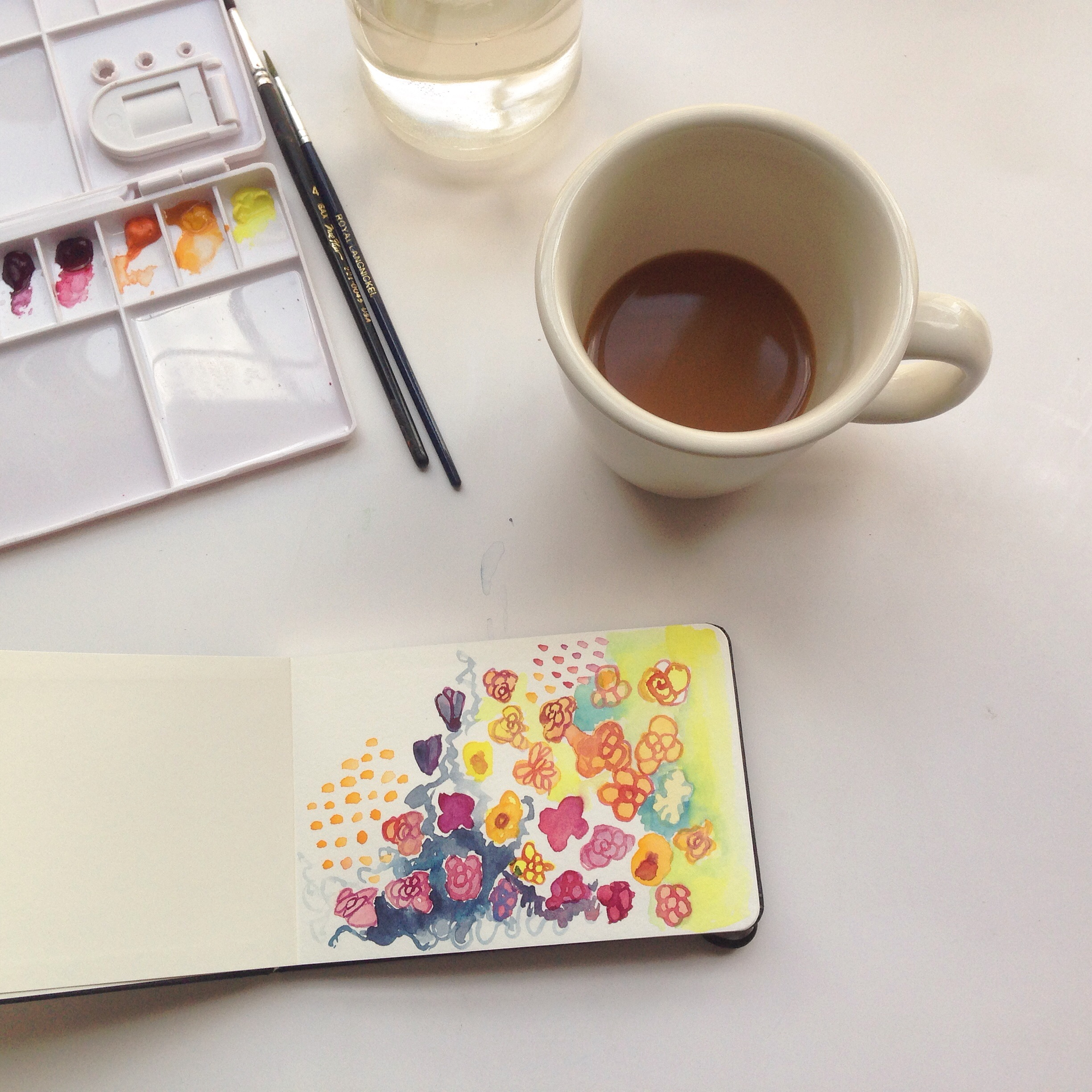 painting a day in May |125  year of creative habits