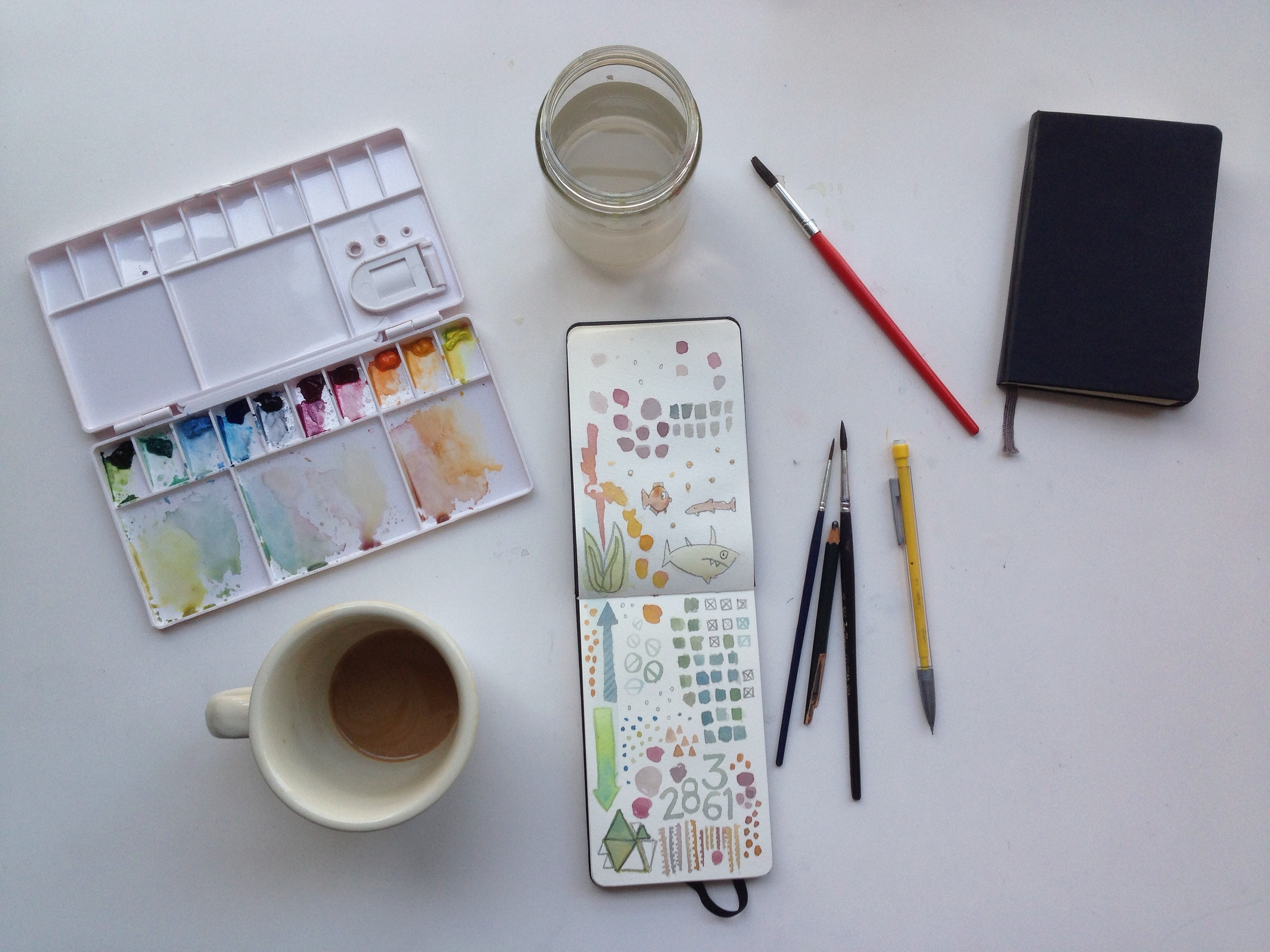 watercolor | 130 year of creative habits