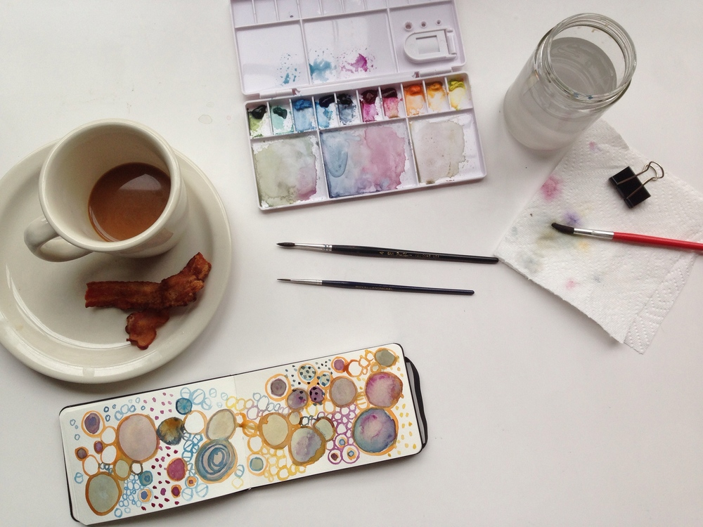 watercolor |133 year of creative habits