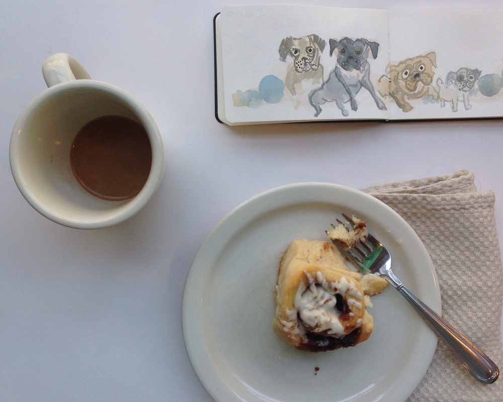 pugs | year of creative habits