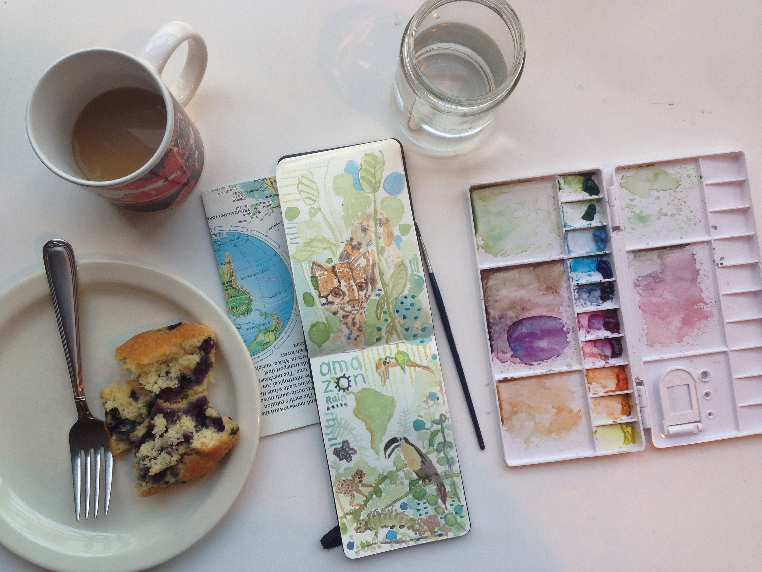 rain forest critters | year of creative habits