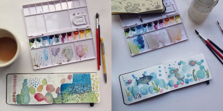 May paintings | year of creative habits