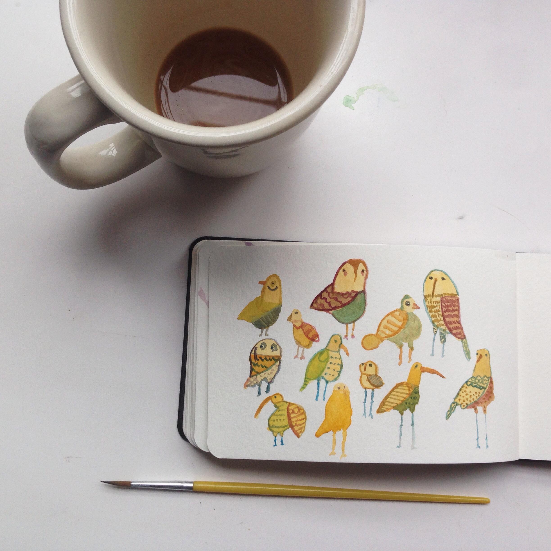 birds | year of creative habits