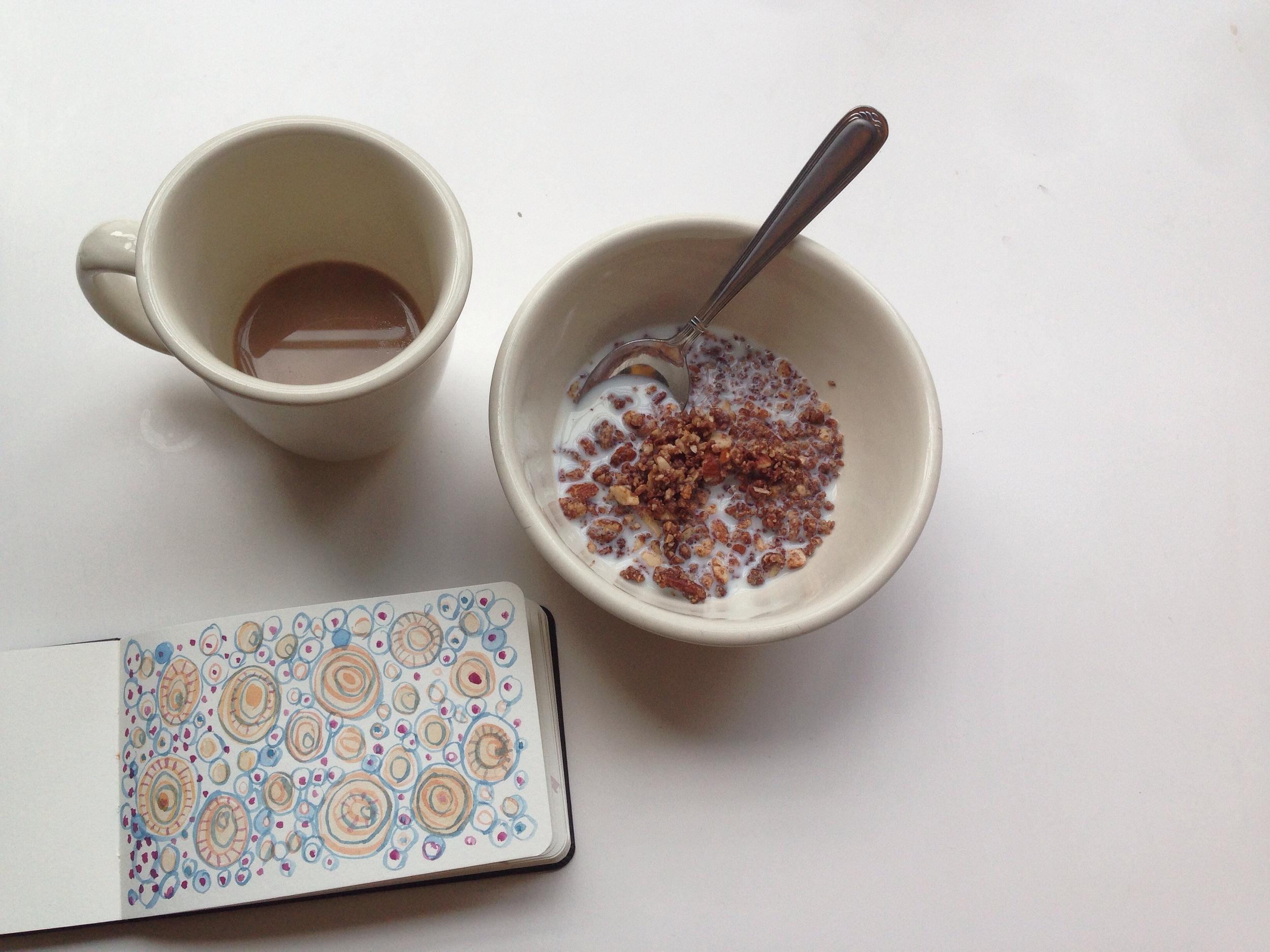 minimal morning | year of creative habits