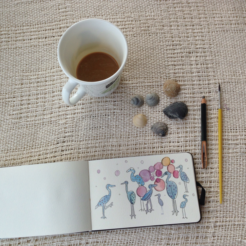 bayside birds | year of creative habits