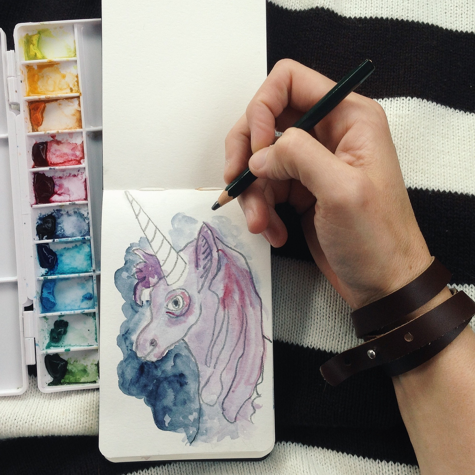 road trip unicorn | year of creative habits
