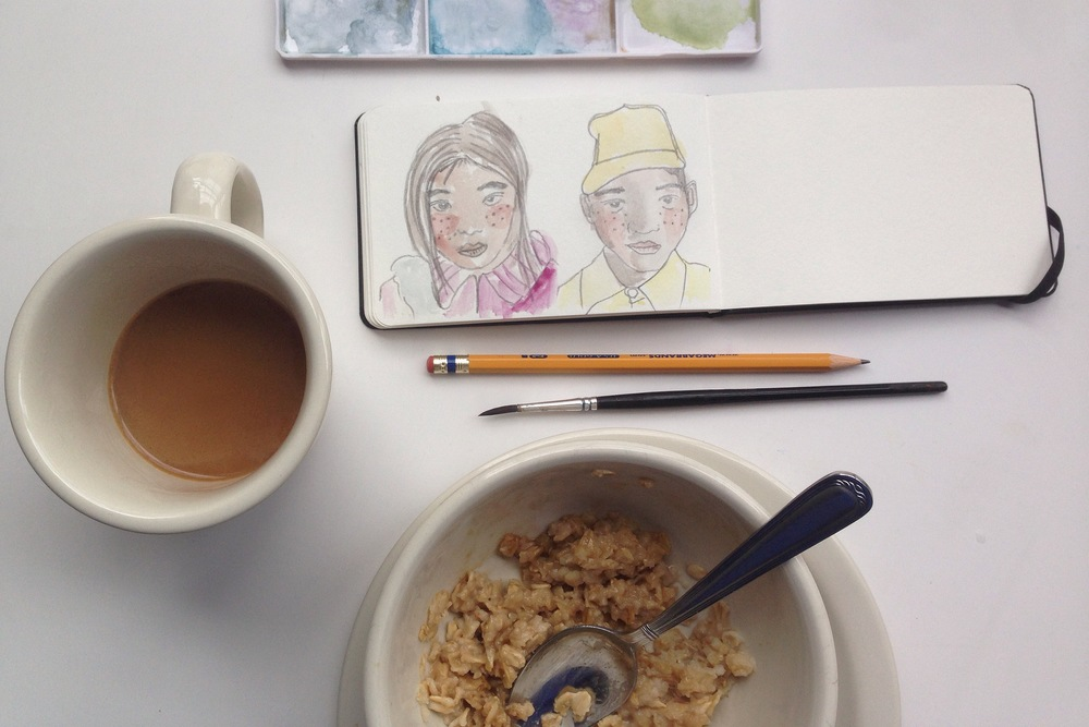 mid-oatmeal | year of creative habits