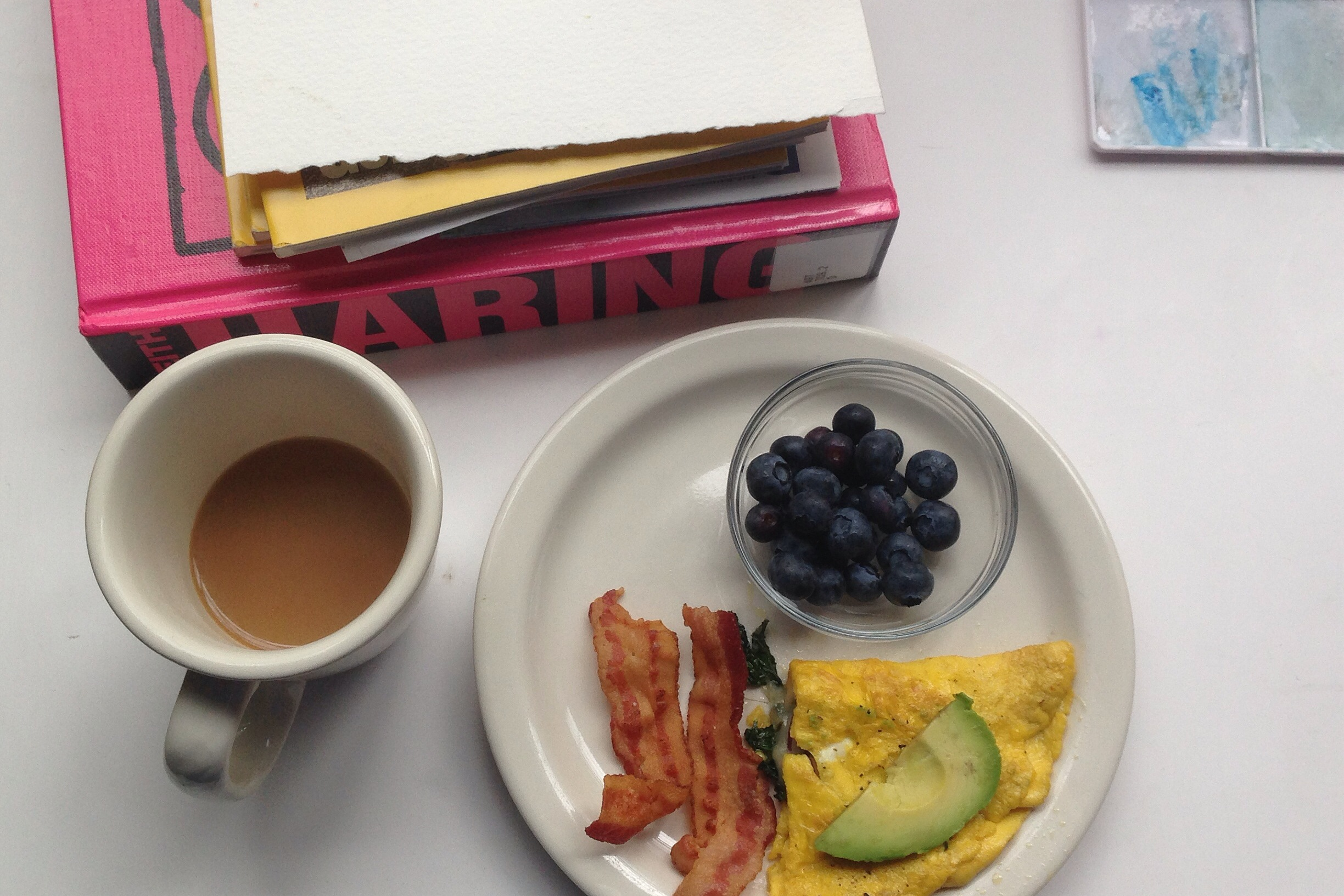 breakfast | year of creative habits